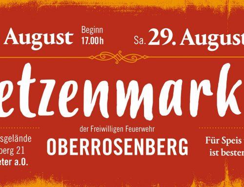 Fetzenmarkt Oberrosenberg